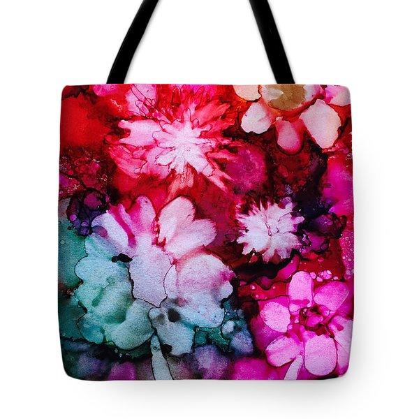 Bunch Of Flowers Tote Bag by Karin Eisermann