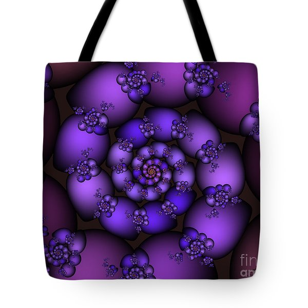 Bunch Of Grapes Tote Bag by Jutta Maria Pusl