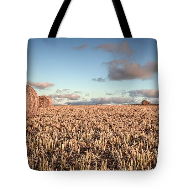 Bundy Hay Bales #6 Tote Bag