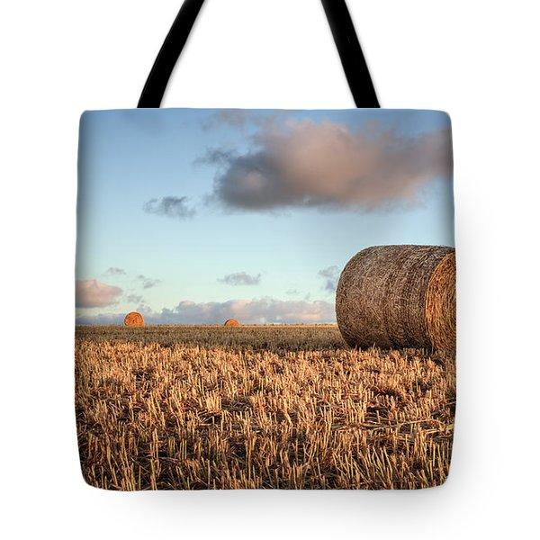 Bundy Hay Bales #7 Tote Bag