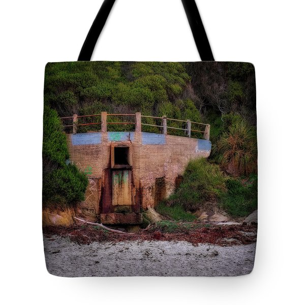 Bunker Tote Bag by Jerry Golab