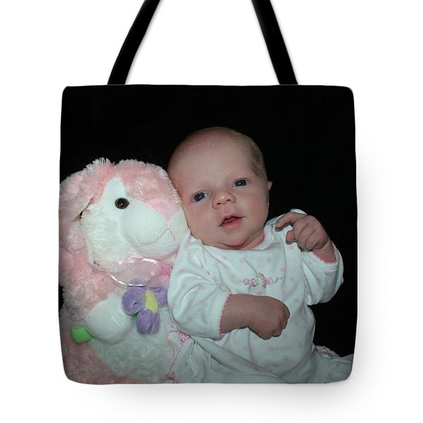 Bunny Baby Tote Bag by Ellen O'Reilly