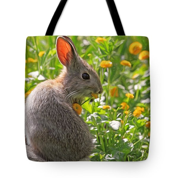 Bunny Brunch Tote Bag