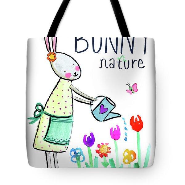 Bunny Nature Tote Bag