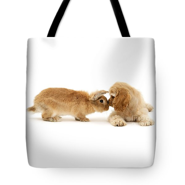 Bunny Nose Best Tote Bag