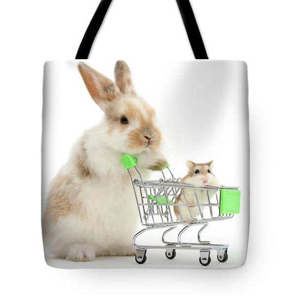 Bunny Shopping Tote Bag