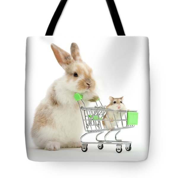 Bunny Shopping Tote Bag