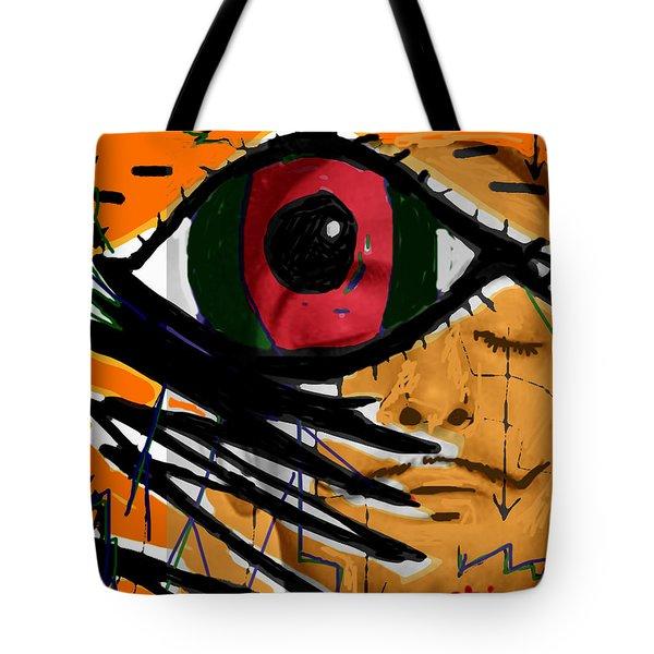 Bunuel Chien Andalou Poster  Tote Bag
