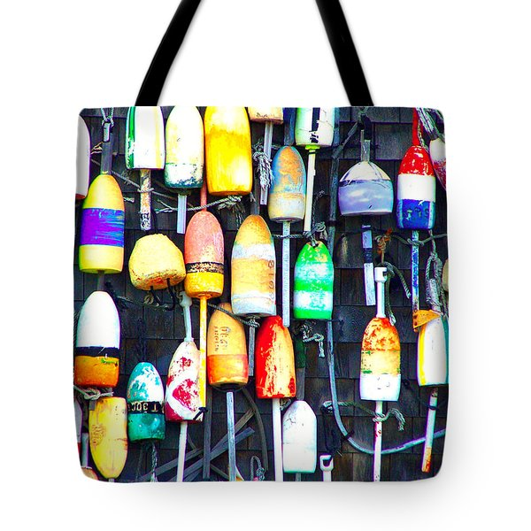 Buoy Art Tote Bag by Bill Holkham