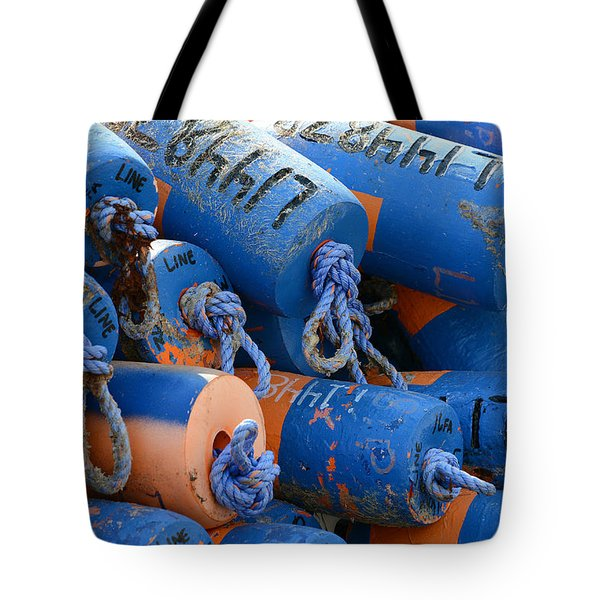 Buoy Colors Tote Bag by Fraida Gutovich