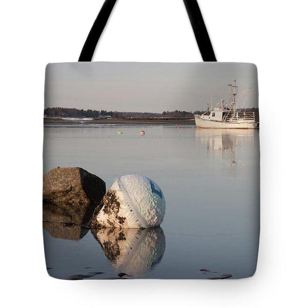 Buoy Reflection Tote Bag
