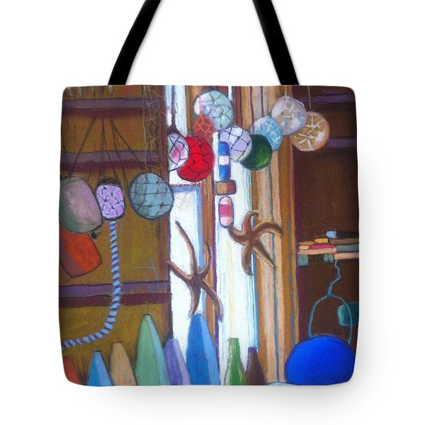 Buoys Bottles And Bobs Tote Bag