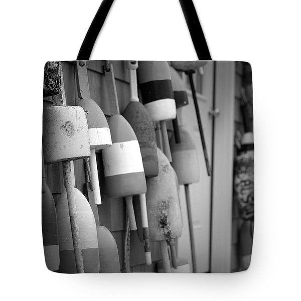 Buoys Tote Bag by Eric Gendron