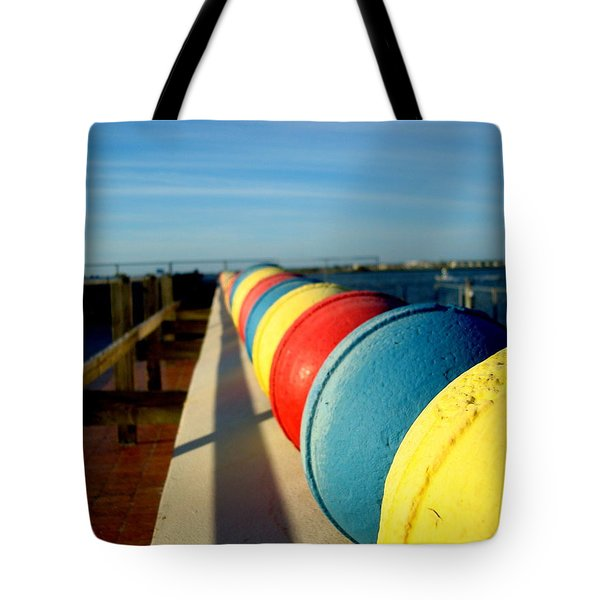 Buoys In Line Tote Bag