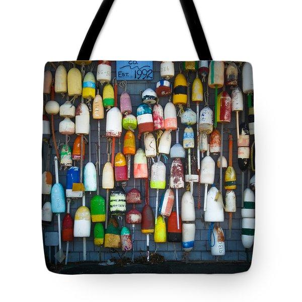 Buoys, Martha's Vineyard Tote Bag