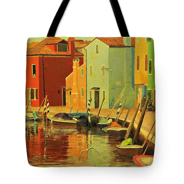 Burano, Italy - Study Tote Bag