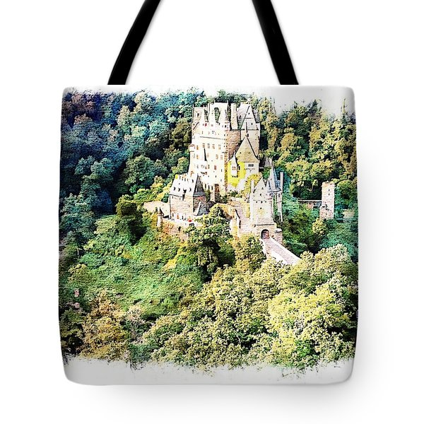 Tote Bag featuring the photograph Burg Eltz - Moselle by Joseph Hendrix
