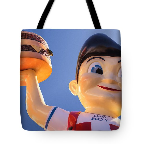 Burger Bob Tote Bag