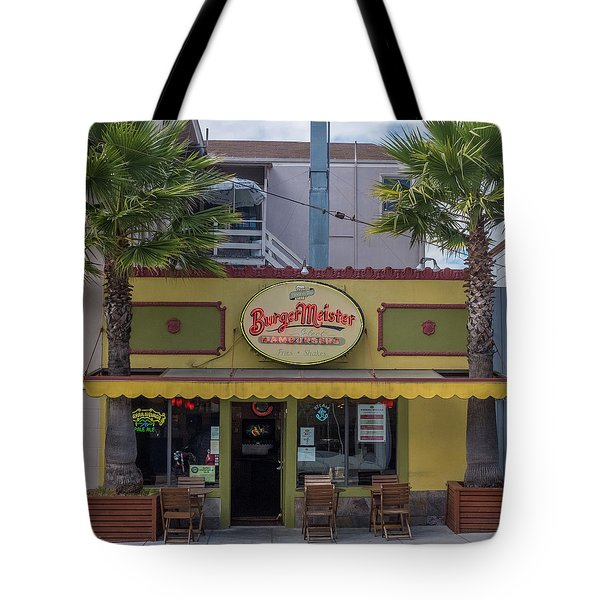 Burgermeister Restaurant, San Francisco Tote Bag