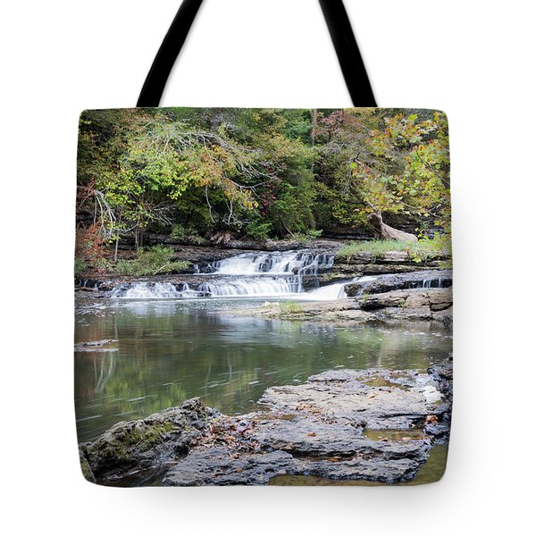 Burgess Falls Tote Bag