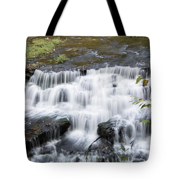 Burgess Falls Middle Tote Bag