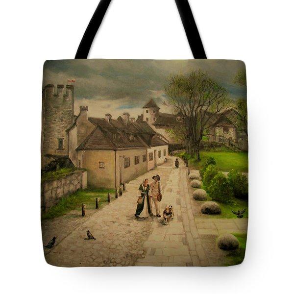 Burghausen Fortress Tote Bag