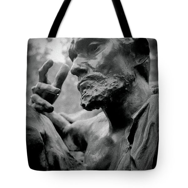 Tote Bag featuring the photograph Burgher Of Calais - I by Samuel M Purvis III