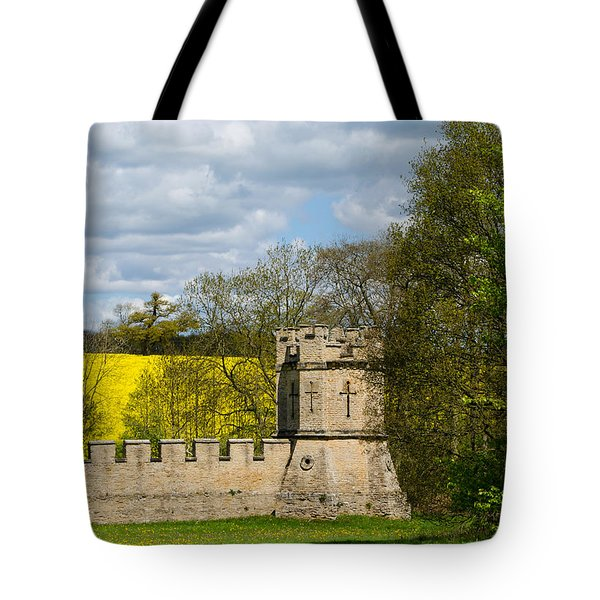 Burghley House Fortifications Tote Bag
