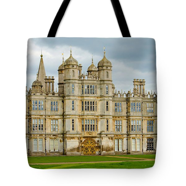 Burghley House Tote Bag