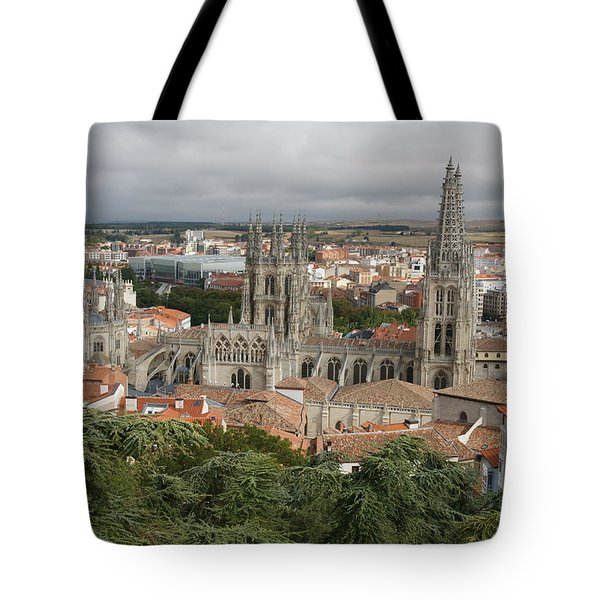 Tote Bag featuring the photograph Burgos by Christian Zesewitz