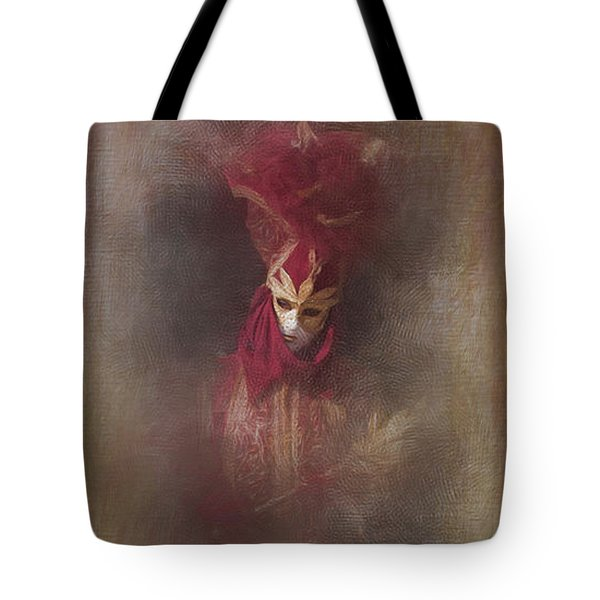 Burgundy In Venice Tote Bag by Jack Torcello