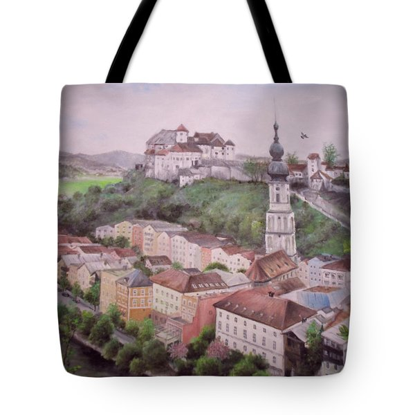 Burhausen Tote Bag