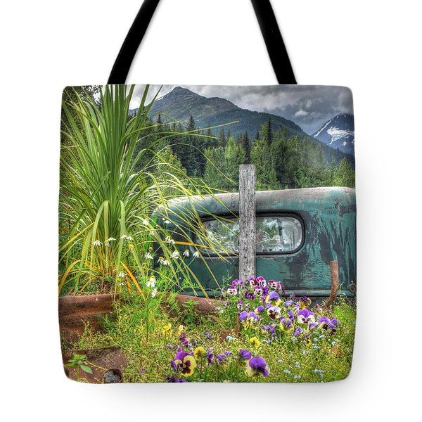 Buried In Beauty Tote Bag