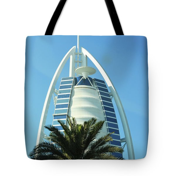 Burj Al Arab Tote Bag by Hanza Turgul