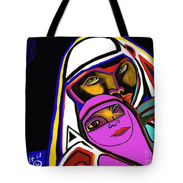 Burka Dome Tote Bag