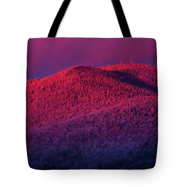 Burke Alpenglow Tote Bag
