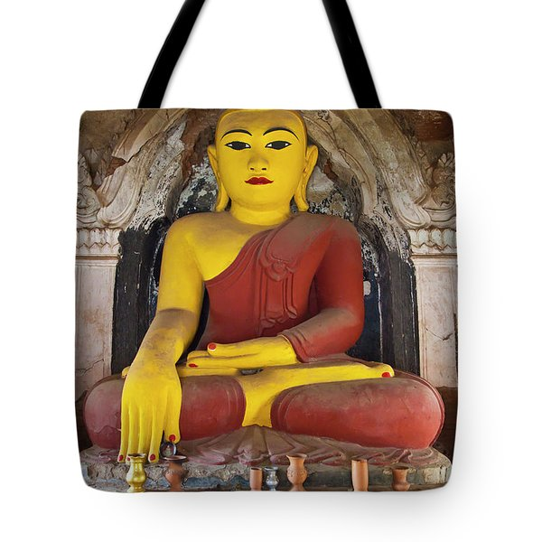 Tote Bag featuring the photograph Burma_d1150 by Craig Lovell