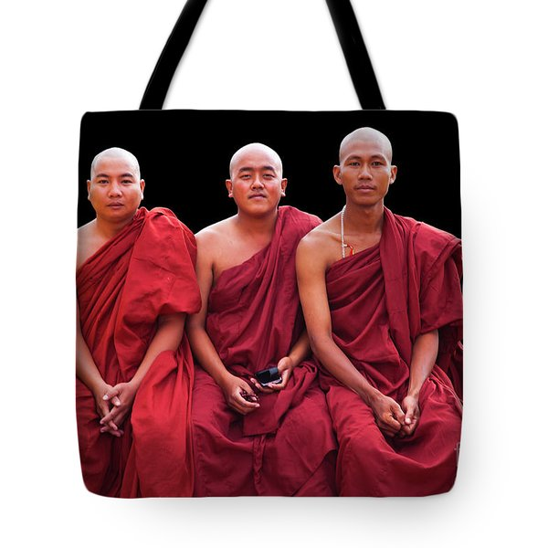 Tote Bag featuring the photograph Burma_d1610 by Craig Lovell