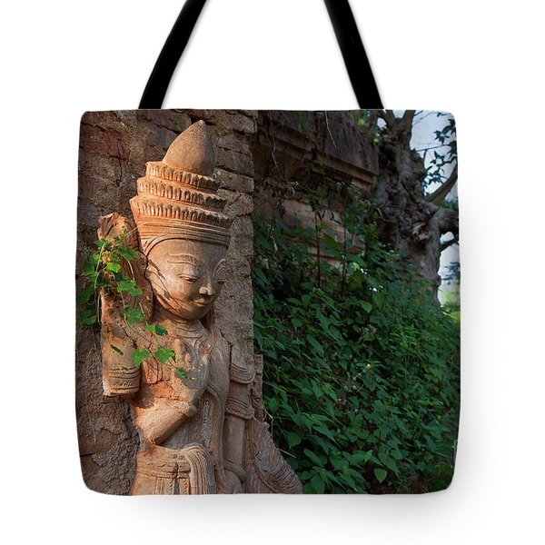 Tote Bag featuring the photograph Burma_d195 by Craig Lovell