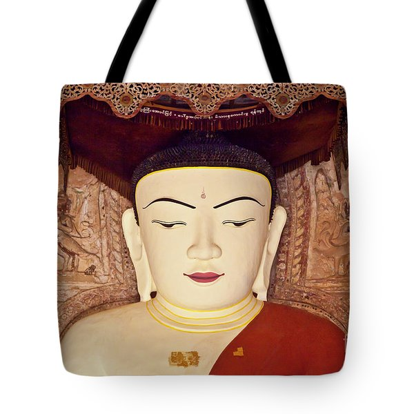 Tote Bag featuring the photograph Burma_d2085 by Craig Lovell