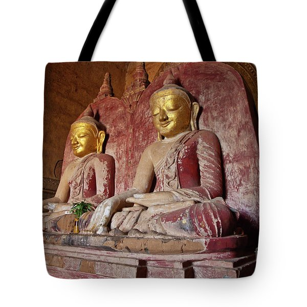Tote Bag featuring the photograph Burma_d2104 by Craig Lovell