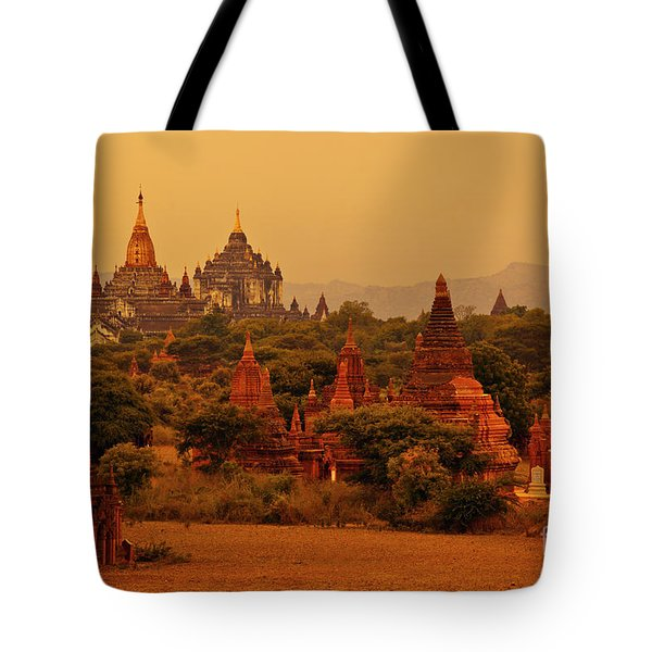 Tote Bag featuring the photograph Burma_d2136 by Craig Lovell