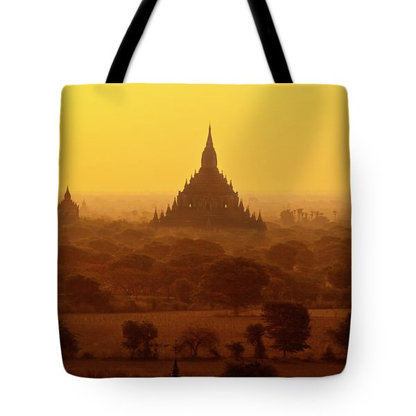 Tote Bag featuring the photograph Burma_d2227 by Craig Lovell