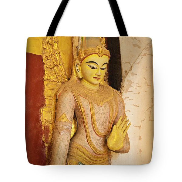 Tote Bag featuring the photograph Burma_d2257 by Craig Lovell