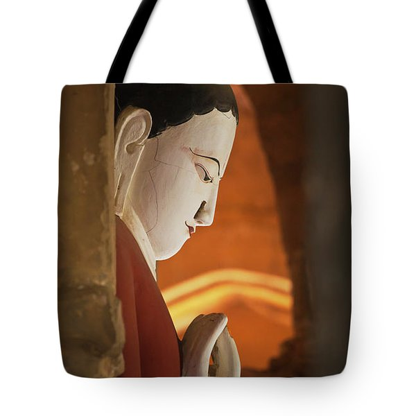 Tote Bag featuring the photograph Burma_d2287 by Craig Lovell