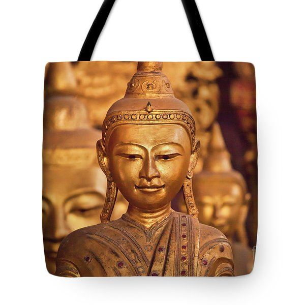 Tote Bag featuring the photograph Burma_d579 by Craig Lovell