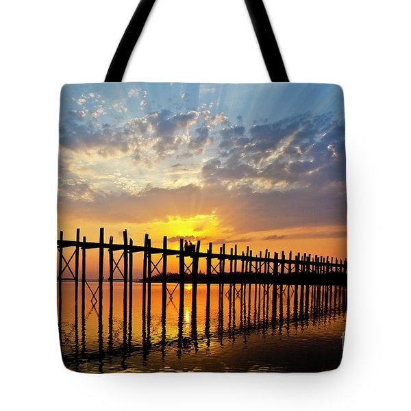 Tote Bag featuring the photograph Burma_d819 by Craig Lovell