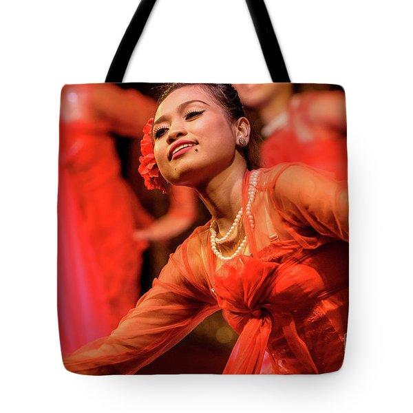 Burmese Dance 1 Tote Bag