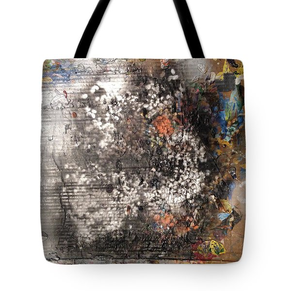 Burn Crackle Fizz Tote Bag