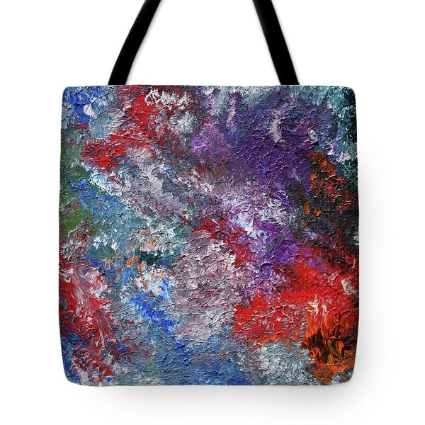 Burn Tote Bag